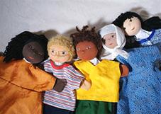 Ulrike Gaidosch Nwankwos interkulturelle Handpuppen