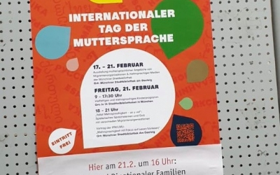 Unsere Aktionen am Internationalen Tag der Muttersprache, 21. Februar 2020